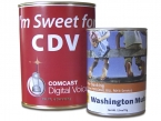 Promotional products: Large tin of cocoa