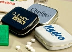 Promotional products: Mint tins