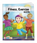 Promotional products: Fitness, exercise and me - all about me book