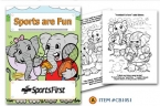 Promotional products: Coloring book: Sports are fun