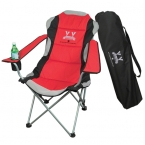 Promotional products: THREE POSITION ADJUSTABLE CHAIR IN A BAG