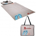 Promotional products: FOLDING BEACH MAT/BLANKET