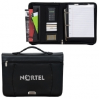 Promotional products: ZIPPERED NOTEPAD BINDER