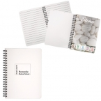 Promotional products: SPIRAL STONE PAPER NOTEBOOK