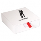 Promotional products: CARDBOARD MEMO PAD BOX
