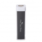 Promotional products: UL CERTIFIED 2200 MAH PLASTIC POWER BANK
