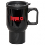 Promotional products: 500 ML (17 OZ.) RIGHT-ON TRAVEL MUG
