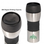 Promotional products: 360° 400 ML. (13.5 OZ.) TRAVEL COFFEE MUG