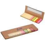 Promotional products: 300 STICKY NOTES WITH RULER