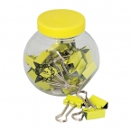 Promotional products: BINDER CLIPS IN A CONTAINER