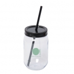 Promotional products: Jolly Maxer 700 Ml. (23.5 Oz.) Acrylic Mason Jar Tumbler