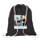 Promotional products: COTTON DRAWSTRING BAG