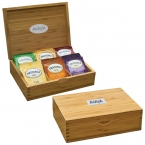 Promotional products: BAMBOO TEA BOX