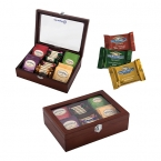 Promotional products: TEA AND CHOCOLATE GIFT BOX