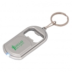 Promotional products: LED KEYCHAIN WITH BOTTLE OPENER