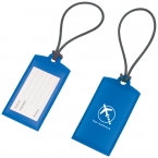 Promotional products: SILICONE LUGGAGE TAG