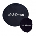 Promotional products: LIGHTWEIGHT NYLON FRISBEE WITH NYLON POUCH