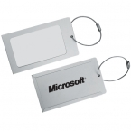 Promotional products: ALUMINUM LUGGAGE TAG