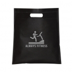 Promotional Small Non Woven Cut-out Handle Tote