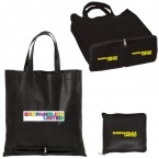 Promotional products: NON WOVEN ZIPPERED FOLDING TOTE