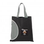 Promotional products: TOTE BAG WITH ZIPPER POCKET
