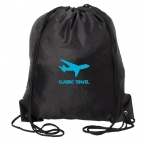 Promotional products: ALOHA DRAWSTRING BACKBACK