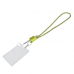 Promotional products: INQUIRER LANYARD WITH IDENTIFICATION HOLDER