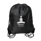 Promotional products: MAHALO LARGE DRAWSTRING BACKPACK
