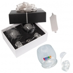 Promotional products: ROCKING GLASSES AND ICE ROCKS GIFT SET
