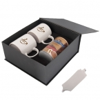 Promotional products: HOT CHOCOLATE WITH MUGS GIFT SET