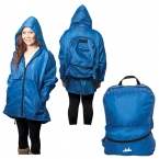 Promotional products: THE AMAZON BACKPACK RAIN COAT