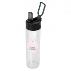 Promotional products: 600 ML. (20 OZ.) SINGLE WALL GLASS BOTTLE