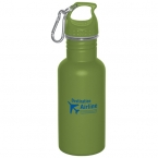 Promotional products: WIDE MOUTH 500 ml (16 oz.) STAINLESS STEEL WATER BOTTLE