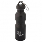 Promotional products: WIDE MOUTH 750 ML. (25 OZ.) STAINLESS STEEL WATER BOTTLE