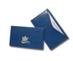 Promotional products: Nappa Leather Single Card Case