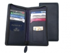 Promotional products: Nappa Leather Zippered Travel Wallet