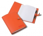 Promotional products: Avalon Leather Notebook