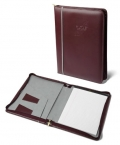 Promotional products: Hilites Zippered Padfolio