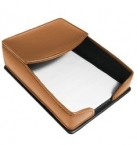 Promotional products: Leather Memo Tray