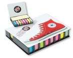 Promotional products: Full color Wrap Imprint Sticky Note Tray