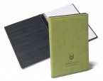 Promotional products: Euro Notebook with Moire Liner