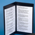 Promotional products: Menu Cover