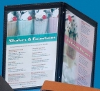 Promotional products: Junior Menu Cover