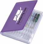 Promotional products: Traveler pre-threaded sewing kit
