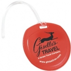Promotional products: Traveler round luggage tag