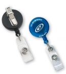Promotional products: Round secure-a-badge™ with alligator clip