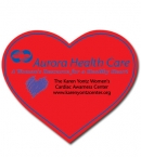 Promotional products: Heart Flexible Magnet
