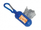 Promotional products: #2 bag dispenser with carabiner