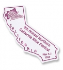 Promotional products: California Flexible Magnet