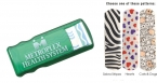 Promotional products: Bandage dispenser w/pattern bandages